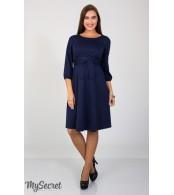 Платье Gloria для беременных и кормящих, темно-синий