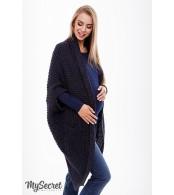 Кофта-шаль для беременных  Kelsey, антрацит