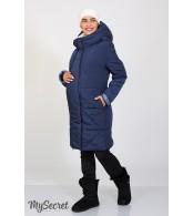 Зимнее пальто для беременных   Angie, синий