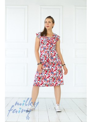 Платье с запа́хом, флора