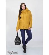 Демисезонная   куртка для беременных Emma, горчица