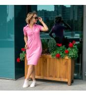 Платье  POLO, розовый