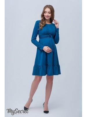 Платье  для беременных и кормящих Michelle, темно-изумрудный