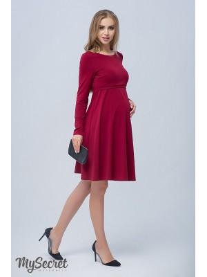 Платье  для беременных и кормящих Olivia, бордо