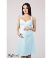 Ночная сорочка для беременных и кормящих мам  Monika new, мята