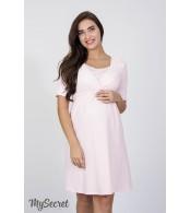 Ночная сорочка для беременных и кормящих мам  Jasmin, розовый