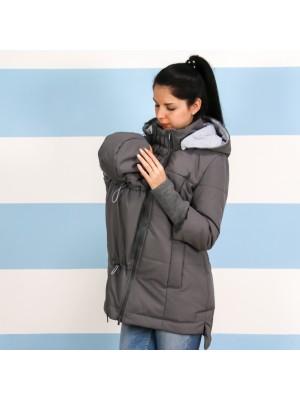 Демисезонная слингокуртка 3 в 1 - Серый