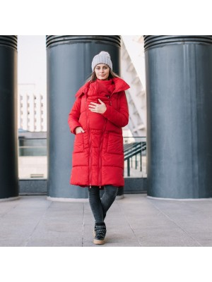 Зимняя слингокуртка Love & Carry® 3 в 1 — Ред