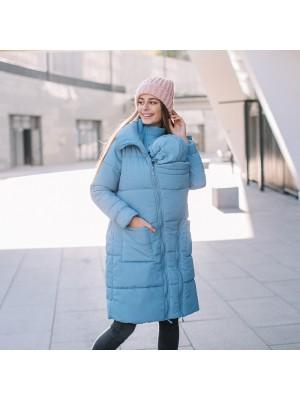 Зимняя слингокуртка Love & Carry® 3 в 1 — Блу
