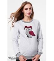 Свитшот для беременных и кормящих Blink owl