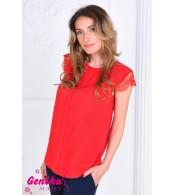 Блуза для беременных, красный