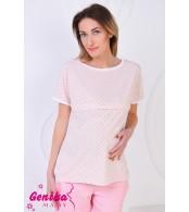 Блуза для беременных и кормящих, розовый