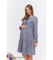 Платье Jeslyn для беременных и кормящих, джинсово-синий меланж