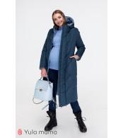 Зимнее пальто для беременных   Tokyo, синий + голубой