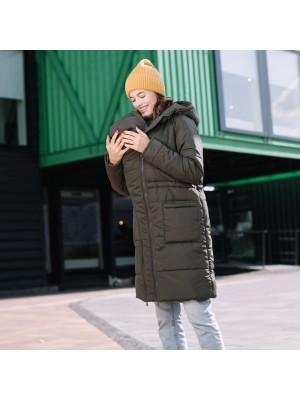 Зимняя слингокуртка 3 в 1  Love & Carry®  —  Хаки