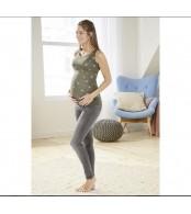 Майка для беременных  esmara,  хаки звезды