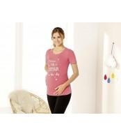 Футболка для беременных  esmara,  розовый
