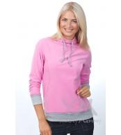 Толстовка розовая с завязками для беременных и кормящих мам